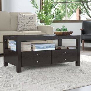 Naperville Coffee Table with Storage Andover Mills