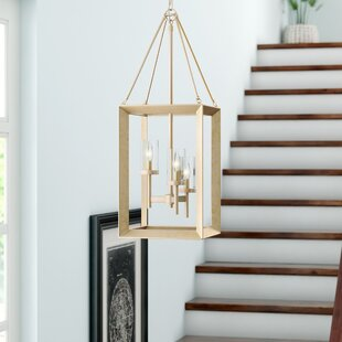 Thorne Modern 3-Light Foyer Pendant by Three Posts
