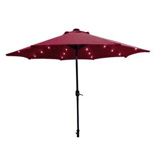 Kittrell Solar 9' Market Umbrella