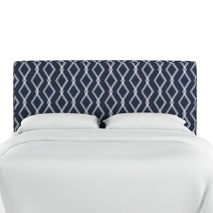 Wrought Studio Edford Upholstered Panel Headboard