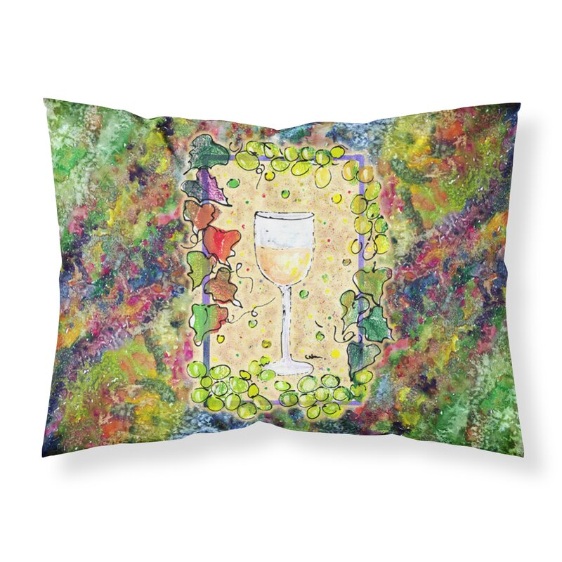 Fleur De Lis Living Greiner Wine Pillowcase Wayfair