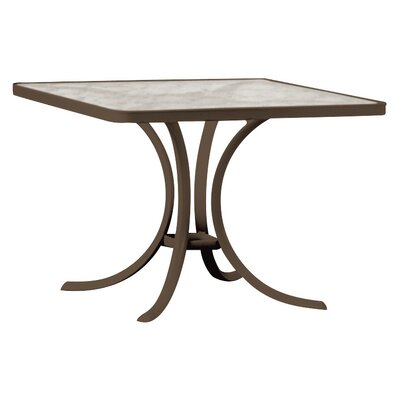 Boulevard Square 27.5 Inch Table by Tropitone Today Only Sale