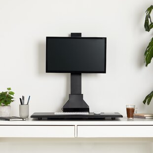 Electric Single Monitor Riser Standing Desk Converter