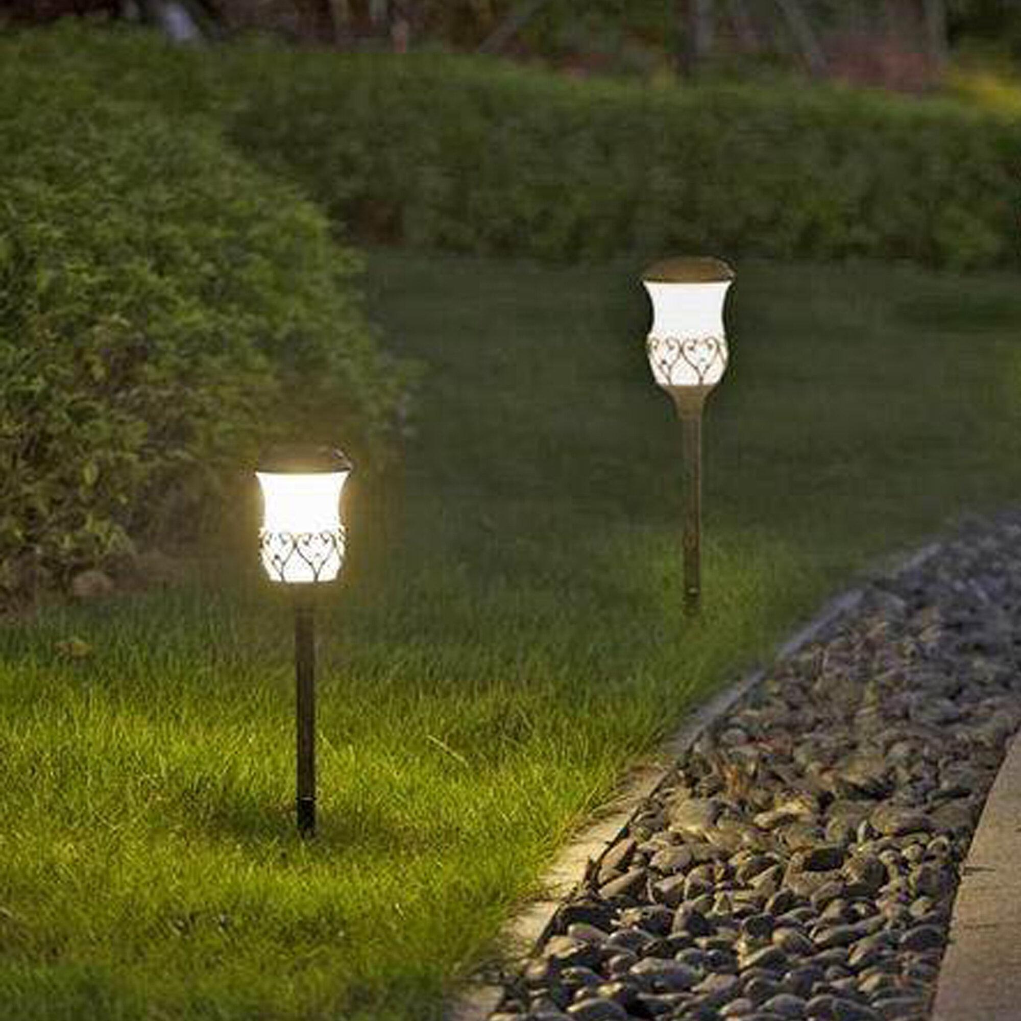 Luxen Home Aged Bronze Solar Ed