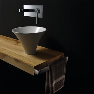 Find Deco Ceramic Circular Vessel Bathroom Sink By WS Bath Collections