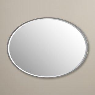 Best Reviews Tarek Oval Wall Mirror ByRed Barrel Studio