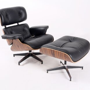 Abella Swivel Lounge Chair And Ottoman by Corrigan Studio