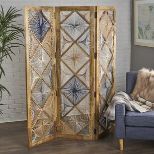 Bungalow Rose Doug 3 Panel Room Divider