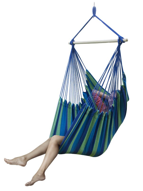 brazilian cotton and polyester chair hammock sorbus brazilian cotton and polyester chair hammock  u0026 reviews      rh   wayfair