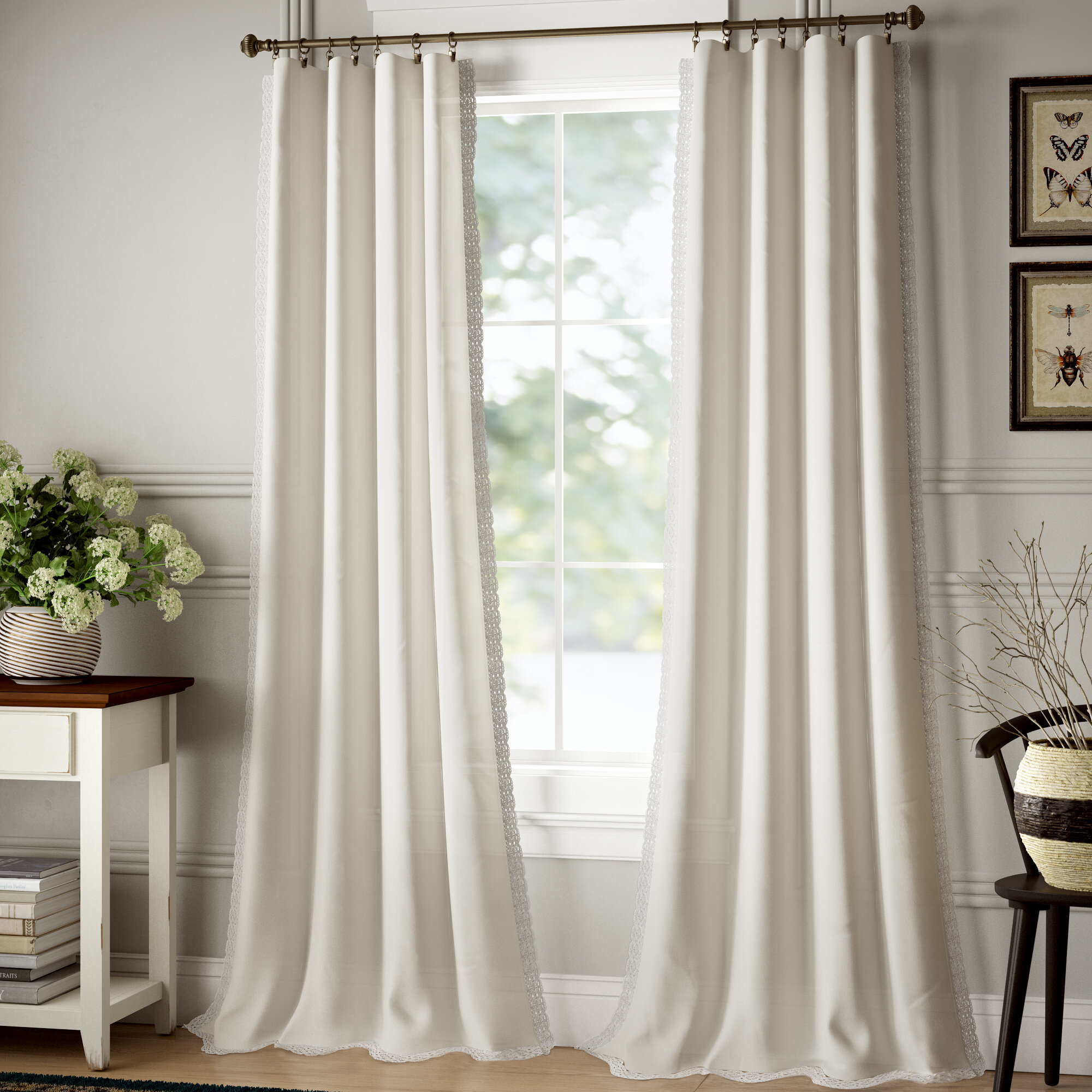 Wayfair Linen Curtains Linen Drapes You Ll Love In 2021