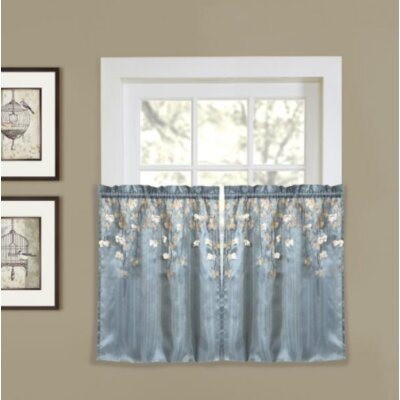 Goulaine Light Filtering 29 Kitchen Curtains Set Of 2