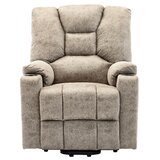 Corban Power Glider Recliner with Massage and Heating by Red Barrel Studio®