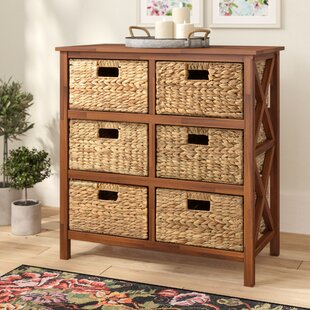 Schimpl 3 Tier X-side Accent Cabinet by August Grove