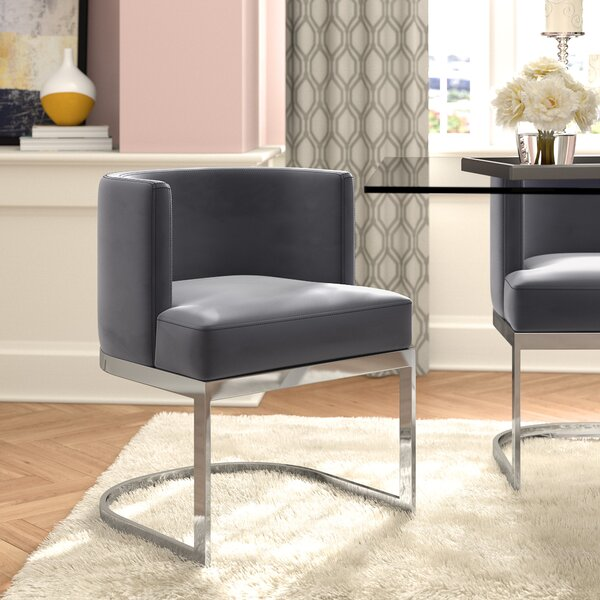 Modern Stainless Dining Chair Wayfair