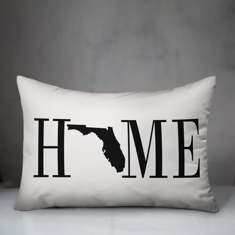 Winston Porter Roiguez Home State Indoor Outdoor Lumbar Pillow Reviews Wayfair