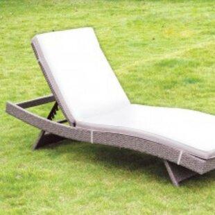 Aicha Chaise Lounge with Cushion