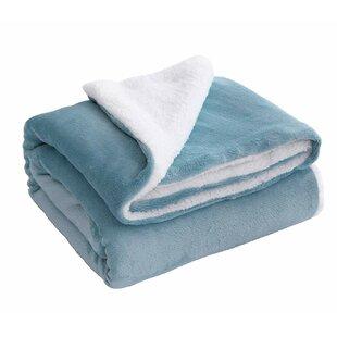 Dulin Sherpa Throw Blanket