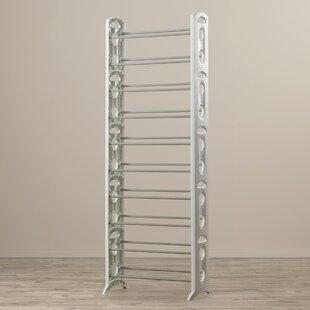 Floor 10-Tier 30 Pair Shoe Rack Rebrilliant