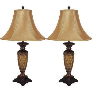 Modern Classic Resin 28 Table Lamp (Set of 2)