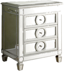 Mirrorred furniture Gold Mirrored Cabinets Chests Wayfair Mirrored Furniture Youll Love