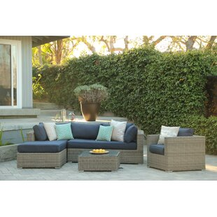 Greendale 4 Piece Sectional Set with Cushions