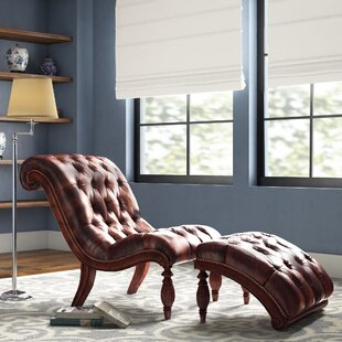 Ohlone Chaise Lounge and Ottoman Set by Alcott Hill
