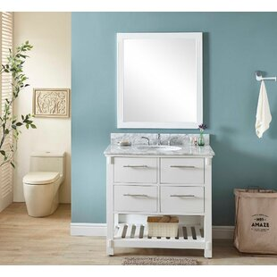 Reviews Gravois 37 Single Bathroom Vanity Set ByWrought Studio