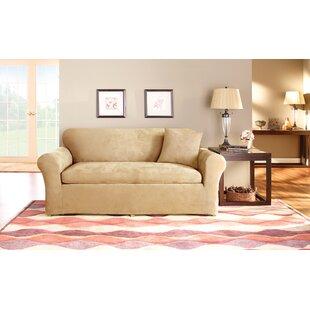 Sure Fit Box Cushion Sofa Slipcover Set