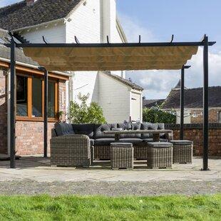 Venetian W 4 X D 3m Retractable Door Canopy By Sol 72 Outdoor
