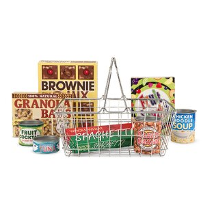 Let's Play House! Grocery Basket Set by Melissa & Doug