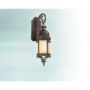 Compare prices Theodore Cottage Outdoor Wall Lantern By Darby Home Co