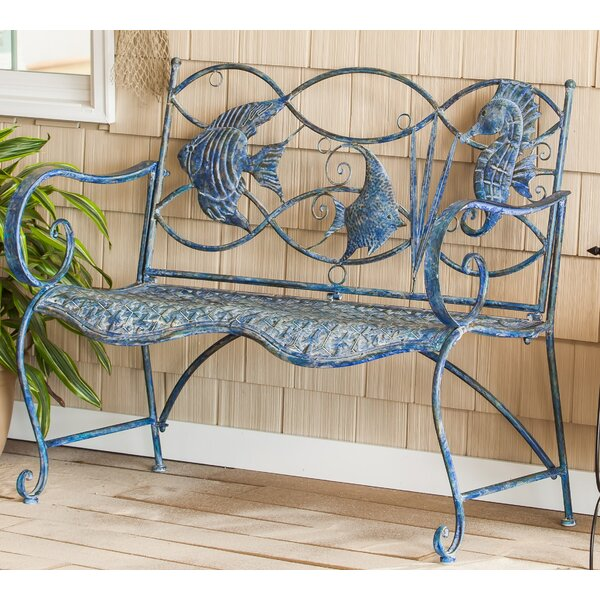 Incredible Small Metal Garden Bench Wayfair Squirreltailoven Fun Painted Chair Ideas Images Squirreltailovenorg