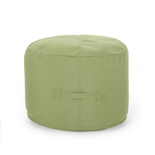 Darrion Outdoor Ottoman with Cushion by Bay Isle Home