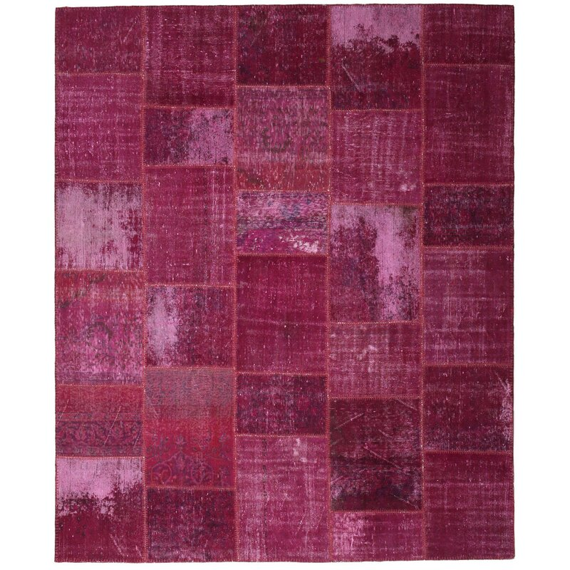 Isabelline One Of A Kind Corrie Hand Knotted 1960s Turkish Anatolian Pink 8 4 X 9 9 Wool Area Rug Wayfair