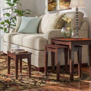 Compare prices Espinosa 3 Piece Nesting Tables by Red Barrel Studio