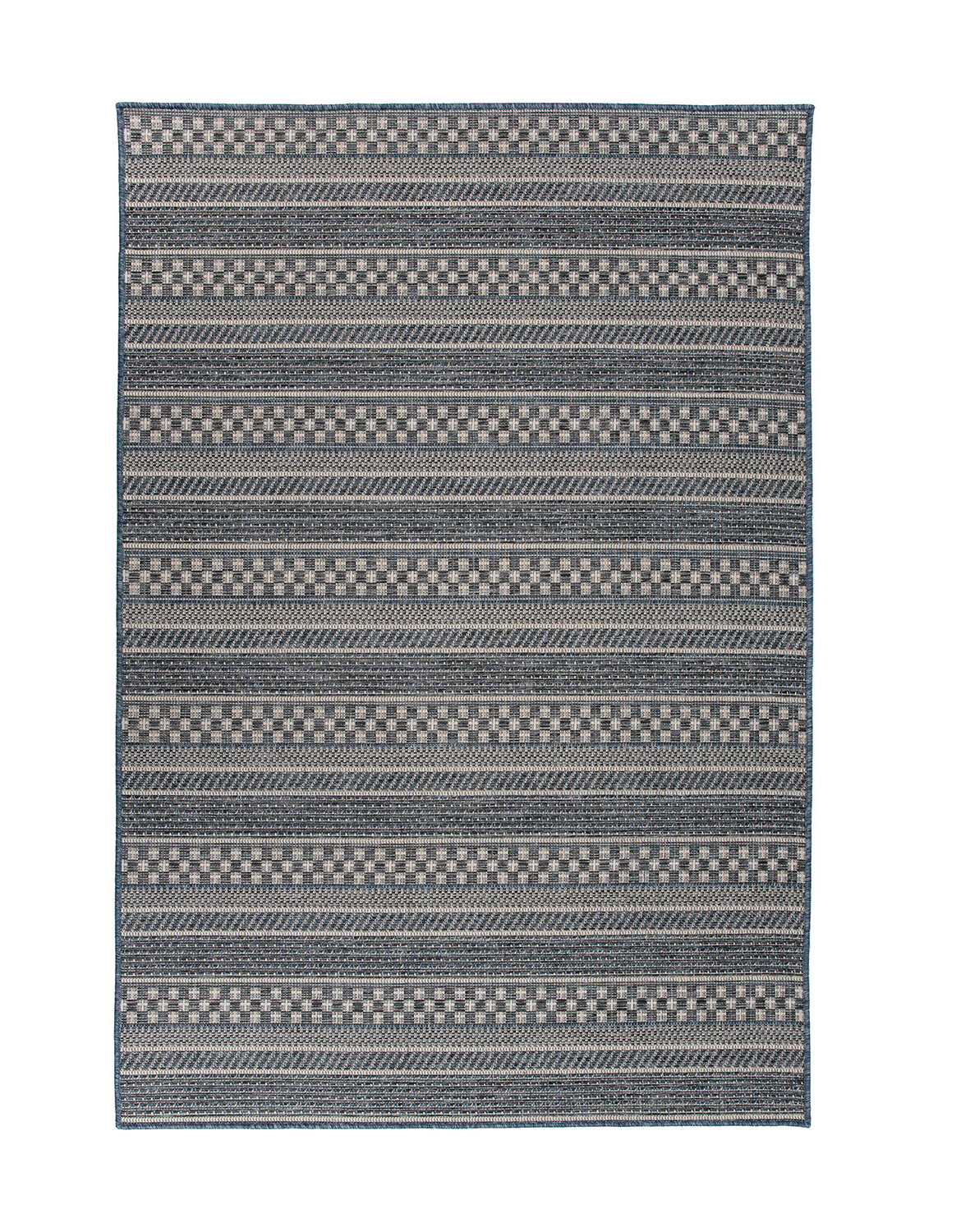 Gray Comfortable Standing and Entrance Rug Kitchen 17 x 28 Floor Mat Wavy Pattern Rug Non-Skid Home