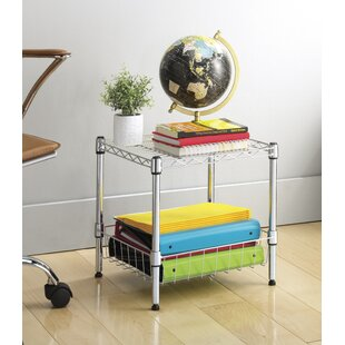 Throne Room Stack Shelf With Basket by WFX Utility Great Reviews