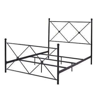 Shirk Metal Queen Panel Bed