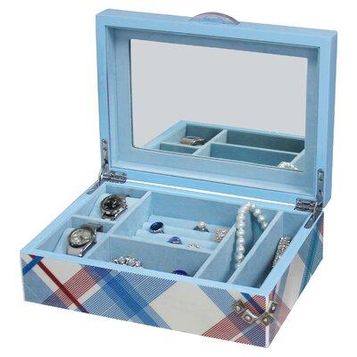 Plaid Vintage Jewelry Box