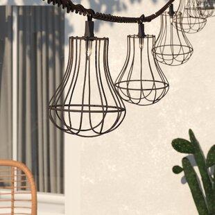 Adelaida 8.5 ft. 10-Light Shaded String Light by Mistana