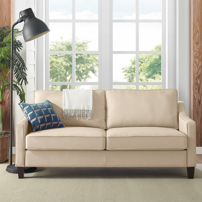 Sensational Donnely Loveseat Bralicious Painted Fabric Chair Ideas Braliciousco