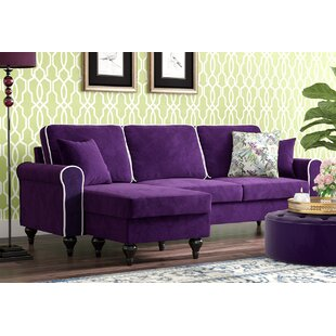 Purple Sectionals You\'ll Love | Wayfair