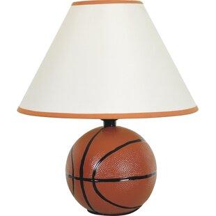 Lights & Lighting Super Star Basketball Lamp For Children Room Kid Glass Ball Ceiling Lights Modern Flush Metal Ceiling Lamp Bedroom Led Brown Bar
