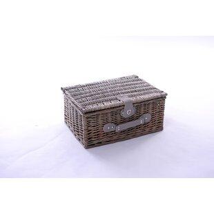 Uvalda 2 Person Wicker Picnic Basket By Brambly Cottage