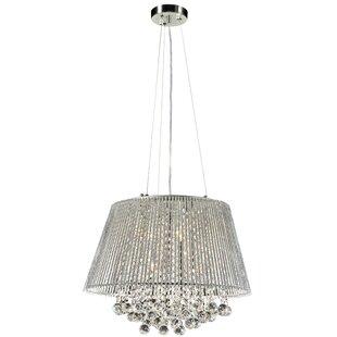 Mercer41 Artin 6-Light Crystal Chandelier
