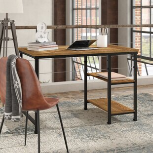 Knapp Solid Wood Writing Desk by Trent Austin Design