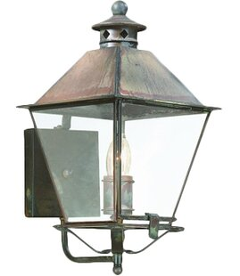 Price Check Theodore 1-Light Outdoor Sconce By Darby Home Co