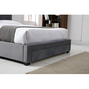 Review Ana Upholstered Platform Bed