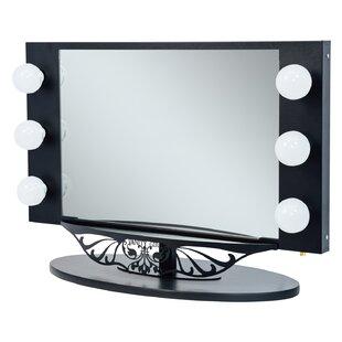 Best Choices Starlet Lighted Bathroom/Vanity Mirror ByVanity Girl Hollywood