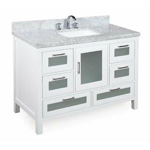 Manhattan 48 Single Bathroom Vanity Set by Kitchen Bath Collection